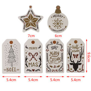 10Pcs-Merry-Christmas-Paper-Tags-For-Christmas-Hang-Tag-Gift-Wrapping-Supplies