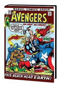 Marvel Comics AVENGERS OMNIBUS #4 DM Neal Adams Cover New 2019 Global Shipping