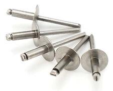 Stainless Steel Pop Rivets 316 Diameter 6 Oversize Large Flange Blind Rivets