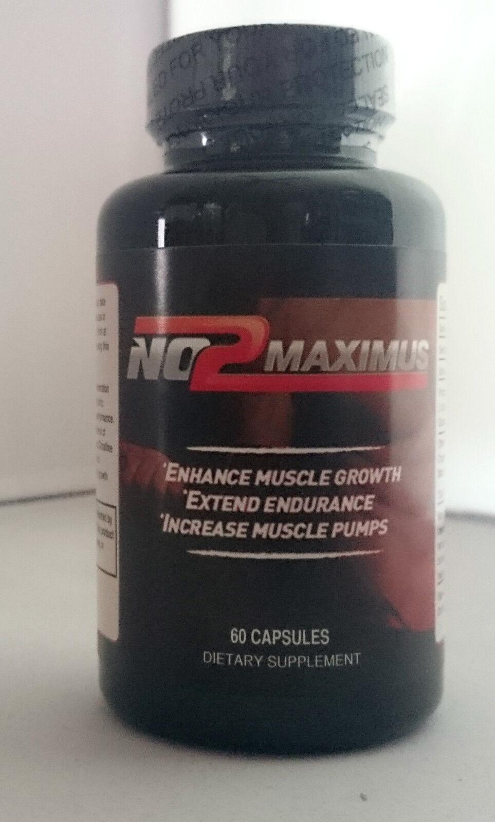 No2 Maximus Culturismo, Deportivo, Óxido Nítrico Preentrenamiento Fórmula