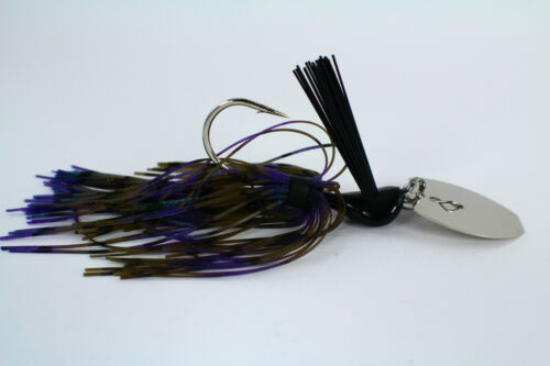 "Vibrant Venom-Chatter Jabber Baits /""hanneton Craw/"" choisir Blade 3//8-1 oz environ 28.35 g"