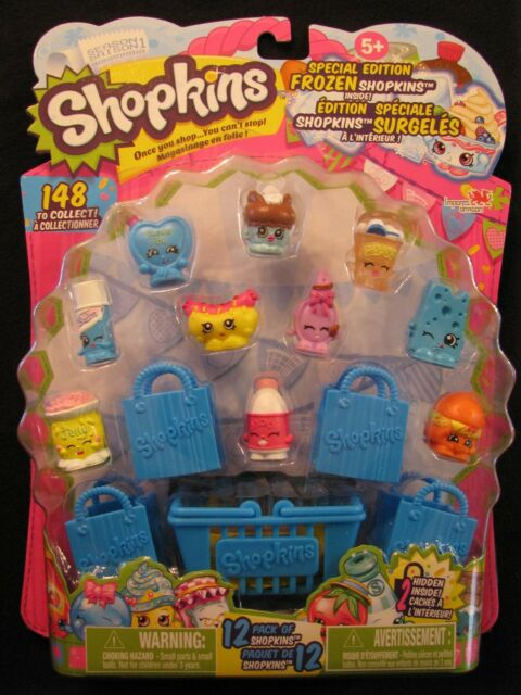 Season 1, Shopkins Special Edition Frozen 12 Pack of Shopkins, Ice Cream Dream