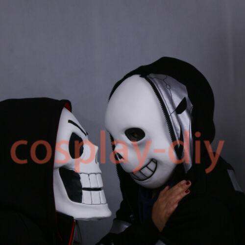 Undertale Mask Cosplay Sans Mask Helmet Latex Papyrus Mask Costume Props Adult
