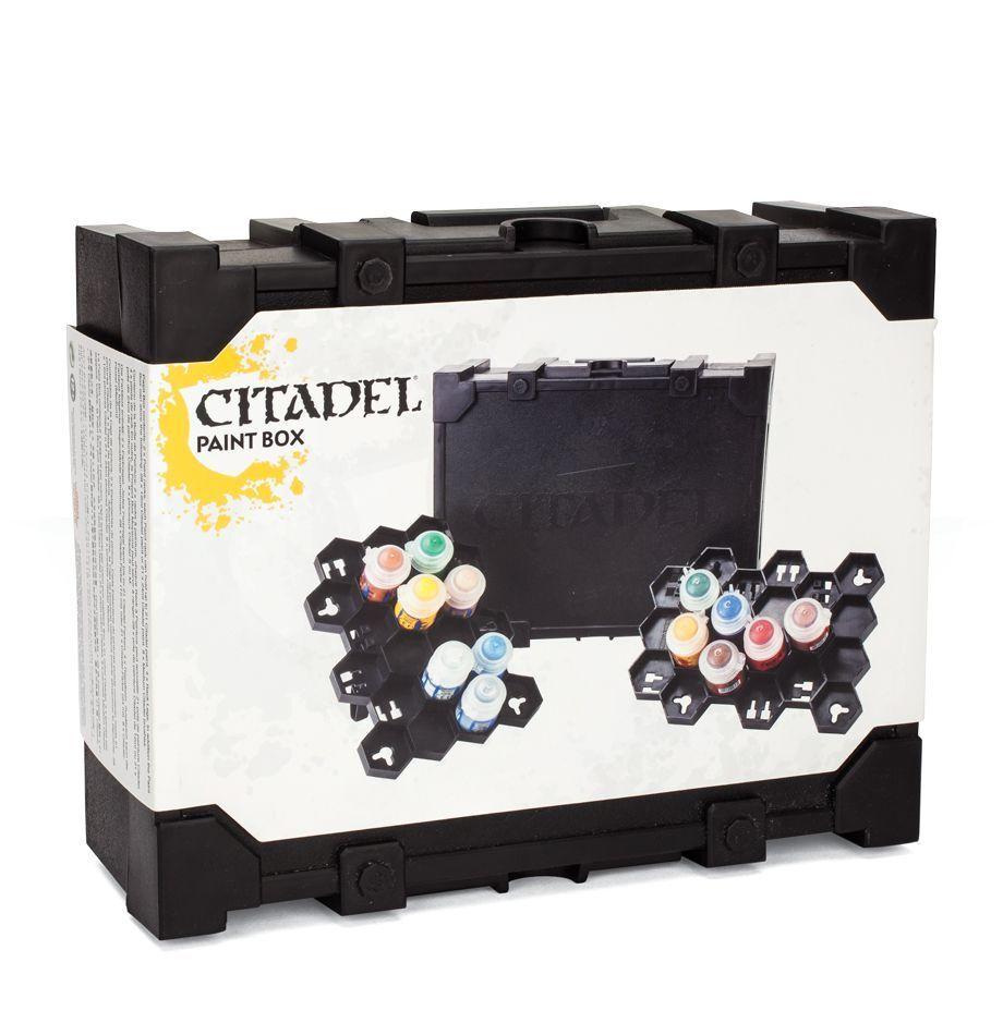 Citadel Paint Boîte de Transport Games Workshop pour Couleurs Valise Support