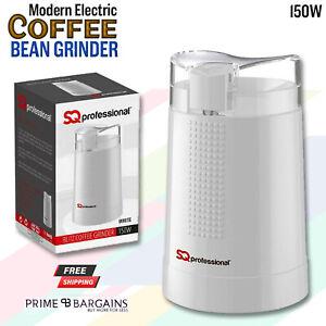 Electric Coffee Bean Grinder Nut Spice Blender Grinder SQ Pro Blitz 150W RED