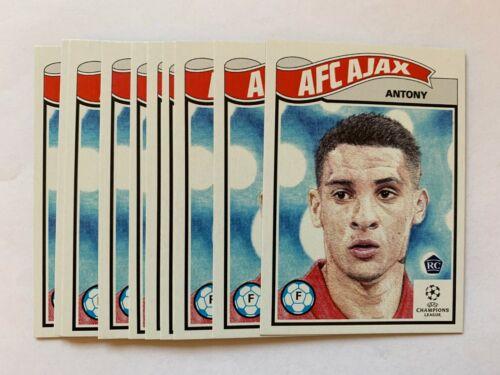 Topps Living Set UEFA Champions League 238 Antony AFC Ajax Rookie Card RC