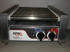 Apw Wyott Hr 20s Hot Dog Roller Grill Angled Convenience Store Stainless Tested