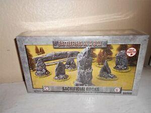 Sacrificial Rocks Battlefield in in Box Gale Force Nine BB569