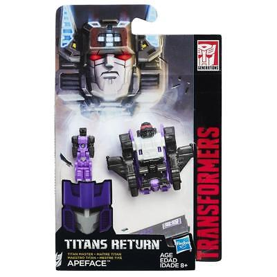 B8356 Apeface Transformers Titan Master Titans Return