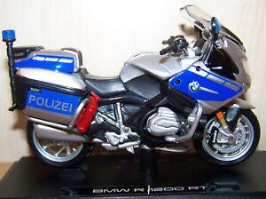 Details Zu Maisto Bmw R 1200 Rt Polizei Motorrad 1 18
