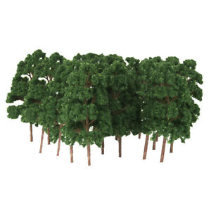 20pcs-Modele-Arbre-Abies-Echelle-Maquette-Train-N-HO-eletronique-Jouef-1