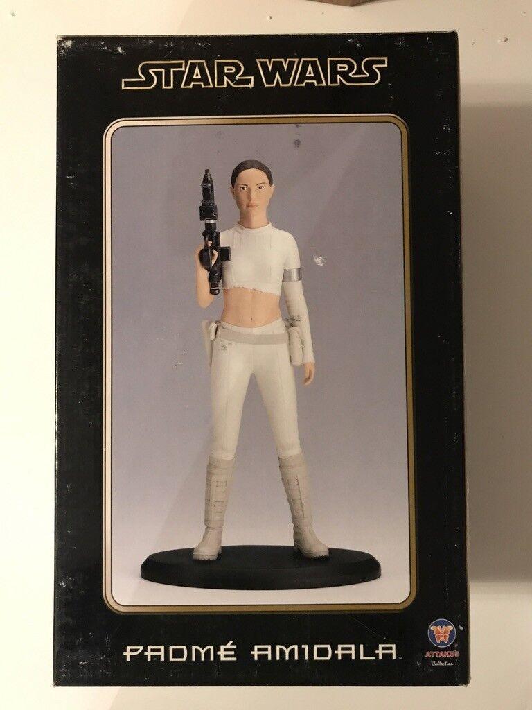 Statue Maquette Figure Polystone Padme Amidala 1 5 Star Wars Attakus Clone NEW