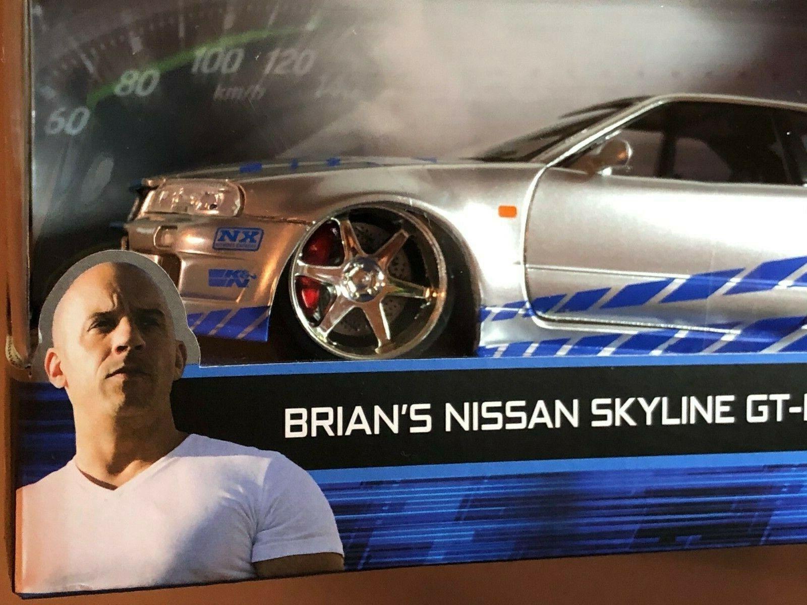 2002 Nissan Skyline GT-R R34 Top Secret 1:24 Model Kit Bausatz Aoshima 053041