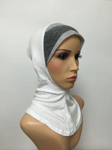 SPUMANTE pieno ninja underscarf Cap Sotto Hijab Lovely Elasticizzato Jersey Materiale