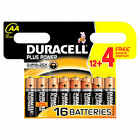 12 X AAA Duracell plus Power 8 4