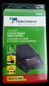 NEW-Tekonsha-Voyager-Electric-Trailer-Brake-Control-Pre-Wired-9030C-Vehicle-End
