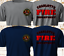 New-CHARLOTTE-Nort-Carolina-Fire-Department-FIREFIGHTER-Navy-Gray-T-Shirt-S-3XL thumbnail 1
