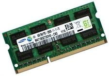4GB RAM DDR3 1600 MHz Asus Notebooks N76VM N76VZ Q400A S46CA Samsung SODIMM