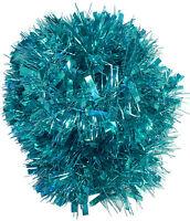 Turquoise Chunky/Fine Tinsel - 3 Metre - Christmas Tinsel - Tree Decor (T18)