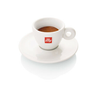 ILLY ESPRESSO CUPS LOGO (12 CUPS) & (12 SAUCERS) Porcelain 2 oz capacity | eBay