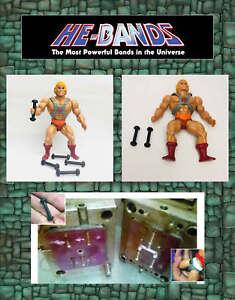 5-x-HE-BANDS-He-Man-MOTU-Masters-Universe-Figure-Repair-Rubber-Leg-Connectors
