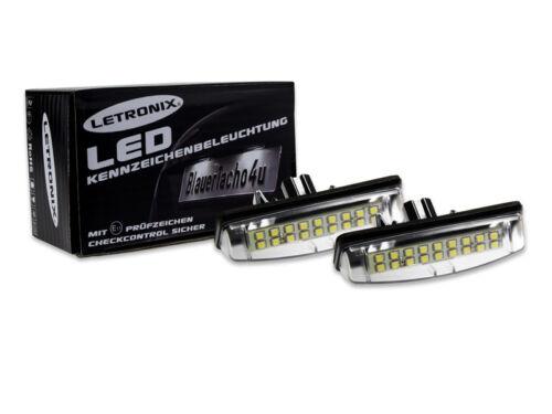 18 smd LED plaque éclairage module LEXUS is300 avec marque d/'homologation E