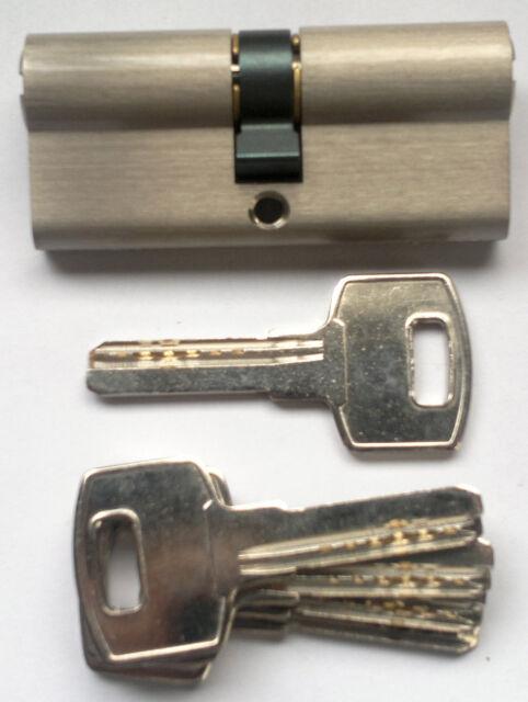 cilindro di sicurezza mod Super Matra con 5 chiavi piatte 70 mm 30+40