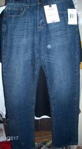 IZOD-Men-039-s-Relaxed-Fit-Denim-Jeans-Medium-Vintage-Blue-30-x-34-59-Straight-Leg