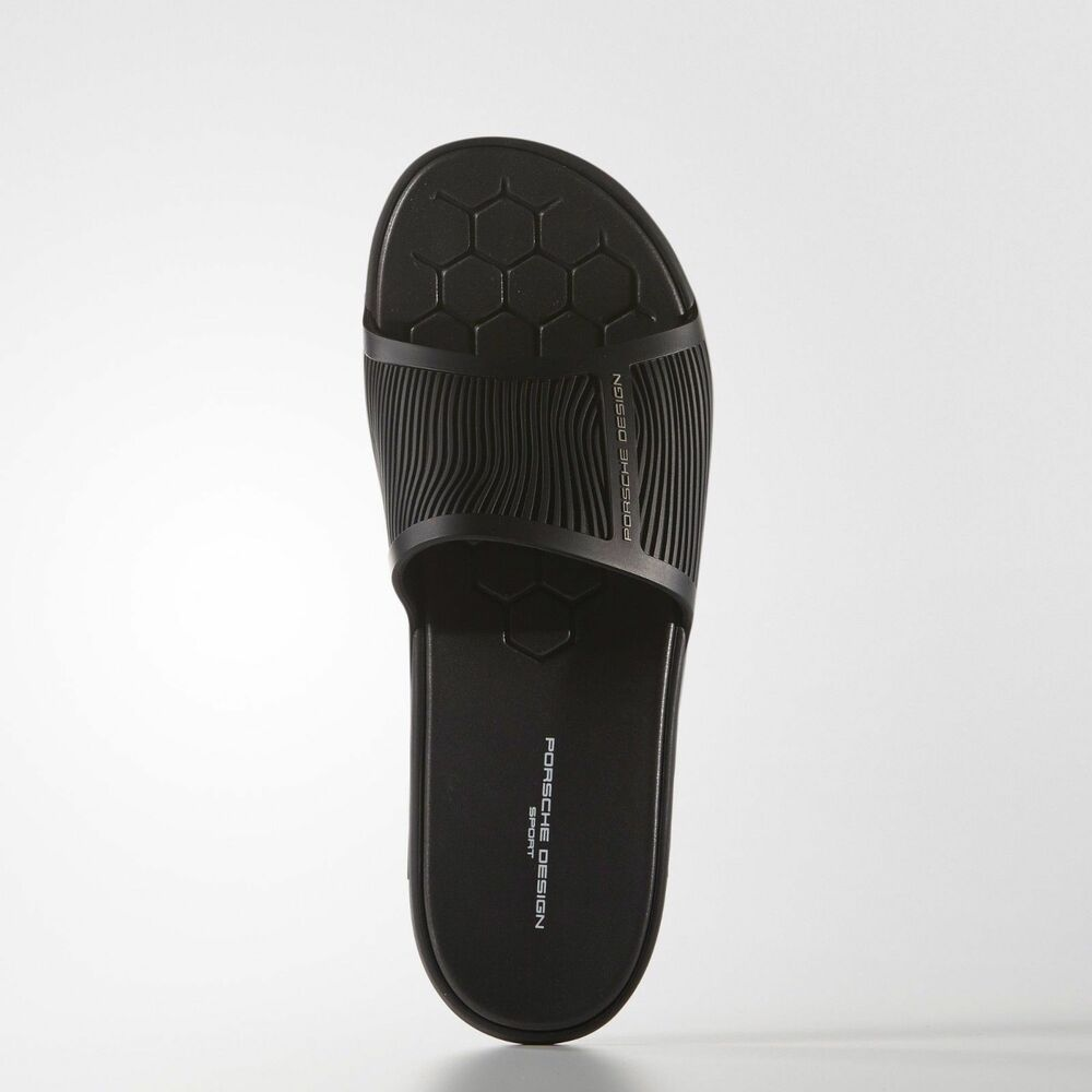 PORSCHE Slides DESIGN SPORT BY ADIDAS Sandals Slippers Slides PORSCHE Flip-Flops B39980 Sz 7-11 f3754f