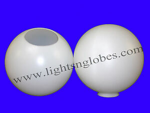 12 034 round plastic globe outdoor light pole lamp fixture. Black Bedroom Furniture Sets. Home Design Ideas