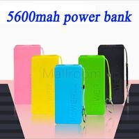 5600mAh Powerbank Energienbank Externe Akku Power Bank 18650 Tragbare Ladegerät