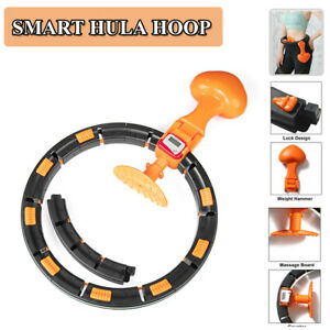 Sports-Smart-Hula-Hoop-Lose-Weight-Ab-Exerciser-Fitness-Circle-Detachable-Hoops