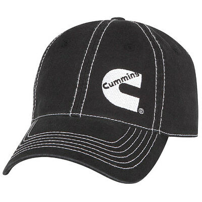 Cummins Base Ball Cap hat Diesel Gear Dodge ram Logo Embroidered Gray