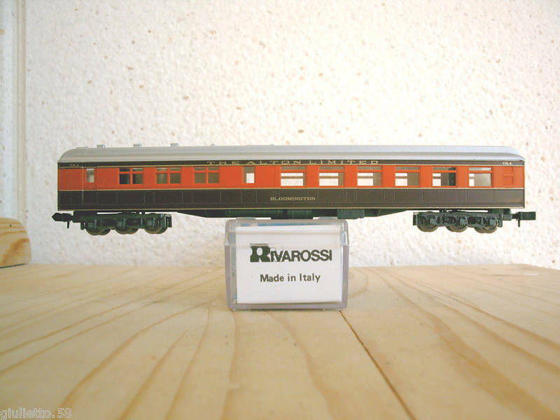 Rivarossi 9582 Diner Car The Alton Limited Scale-N