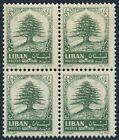 Lebanon 406 block/4,MNH.Michel A838. Cedar of Lebanon,1964.