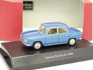 Starline-1-43-Lancia-Fulvia-2C-1964-Bleue-metal