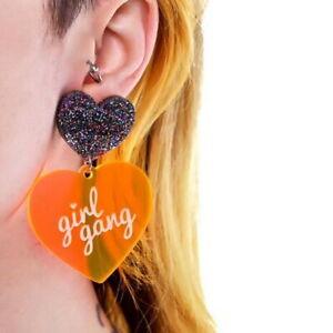 Fashion-Women-Acrylic-Resin-Heart-Earrings-Boho-Dangle-Drop-Stud-Earring