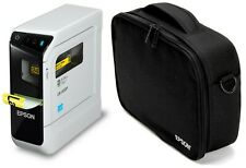 Epson LabelWorks LW-600P Etikettendrucker + Epson Tragetasche Bundle