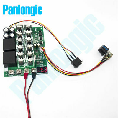 10-55V 60A 3KW Reversible DC Motor Speed Controller PWM Control  Digital Display