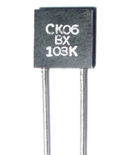0,01µF 200V P:5mm MIL Multilayer Ceramic Capacitor Military CDE 0.01uF 30pcs