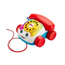 Fisher-Price Chatter Telephone Pull Along Toddler Toy Phone with Numbers Sounds
