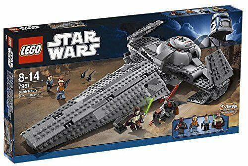LEGO® estrella guerras® Darth  Maul's Sith Infiltrator costruzione Set 7961 nuovo NIB Retirosso  nuovo di marca