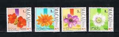 Macao 1993 Satz 735/38 Blumen/flora Schon Postfrisch äSthetisches Aussehen Briefmarken