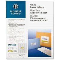 Business Source Return Address Labels - Bsn26108
