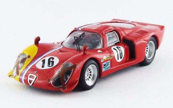 BEST MODEL BES9578 - Alfa Romeo 33.2 coupé  16 SPA - 1968    1 43