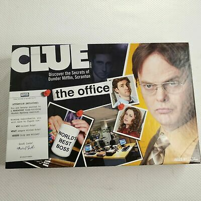 The Office Board Game Replacement Game Parts Clue