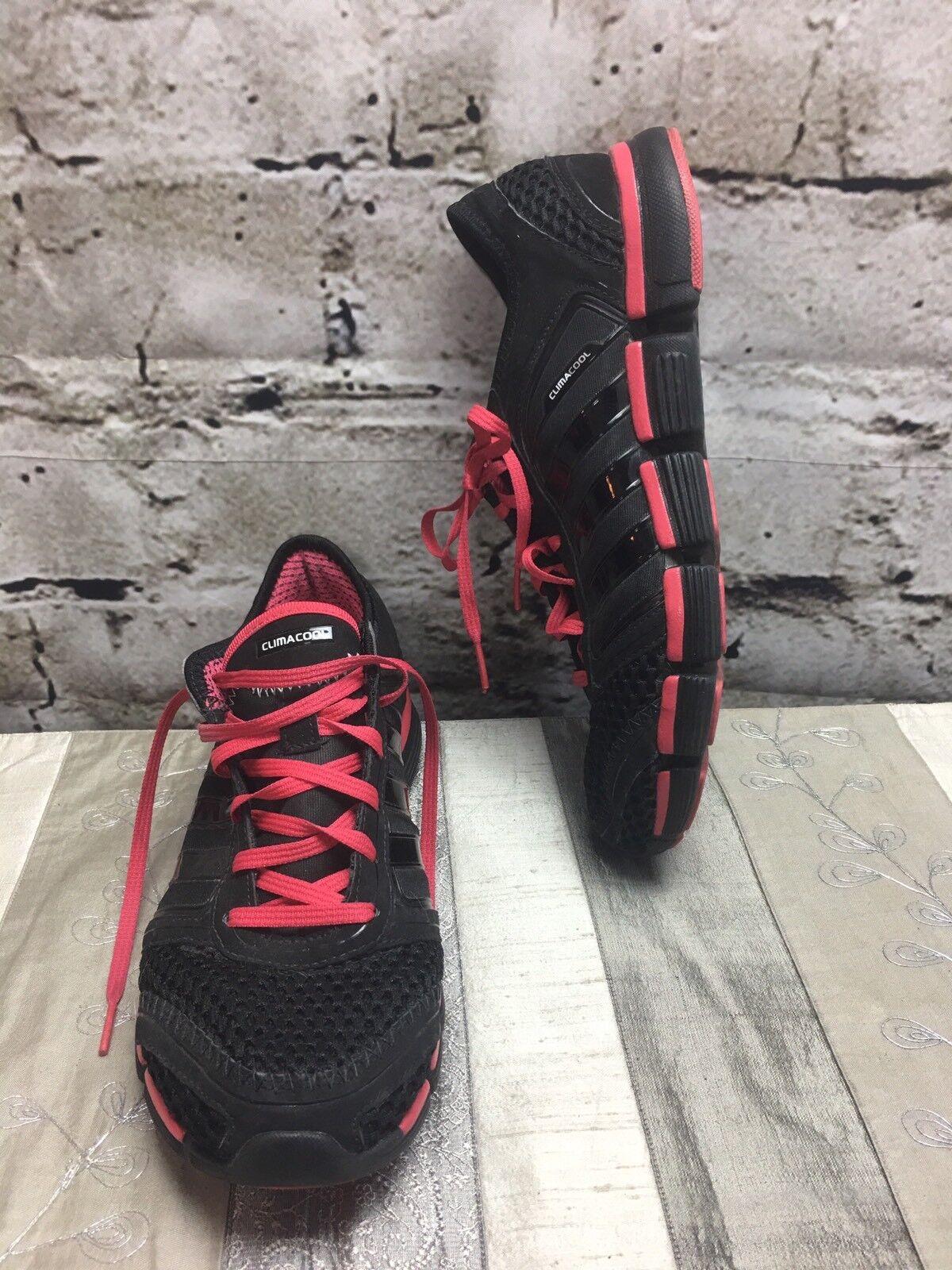 Adidas climacool sz 9,5 nero e scarpe da ginnastica telata rosa | unico  | Gentiluomo/Signora Scarpa