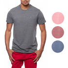 Tommy Hilfiger NEW Heather Logo Basic Crewneck Tee T-Shirt $49