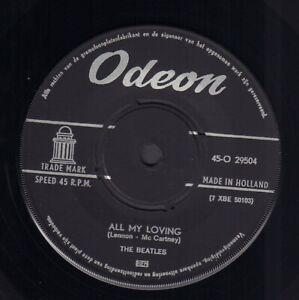 BEATLES-All-My-Loving-1964-VINYL-SINGLE-7-034-ODEON-HOLLAND