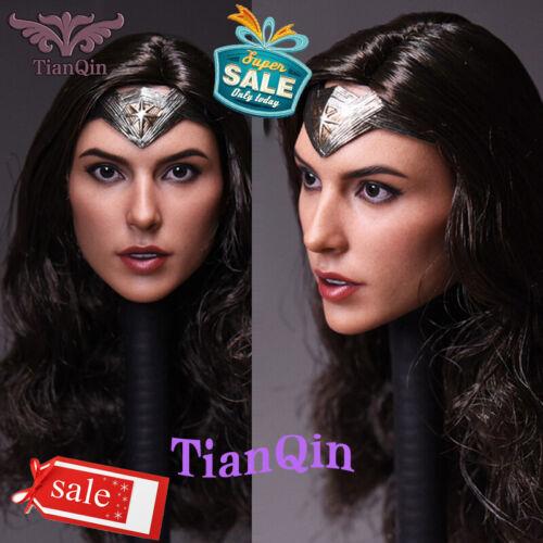 "Head Sculpt For 12/"" Hot toys PHICEN Figure Body Model 1//6 Wonder Woman A Ver"